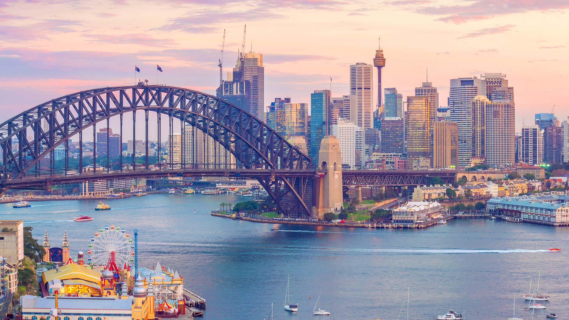 Panorama to illustrate dating in sydney