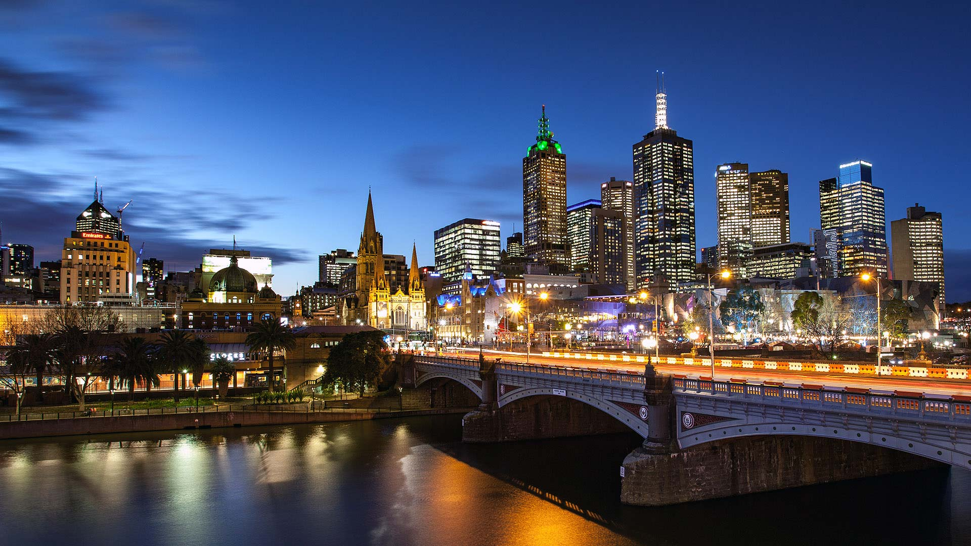 Panorama to illustrate dating in melbourne