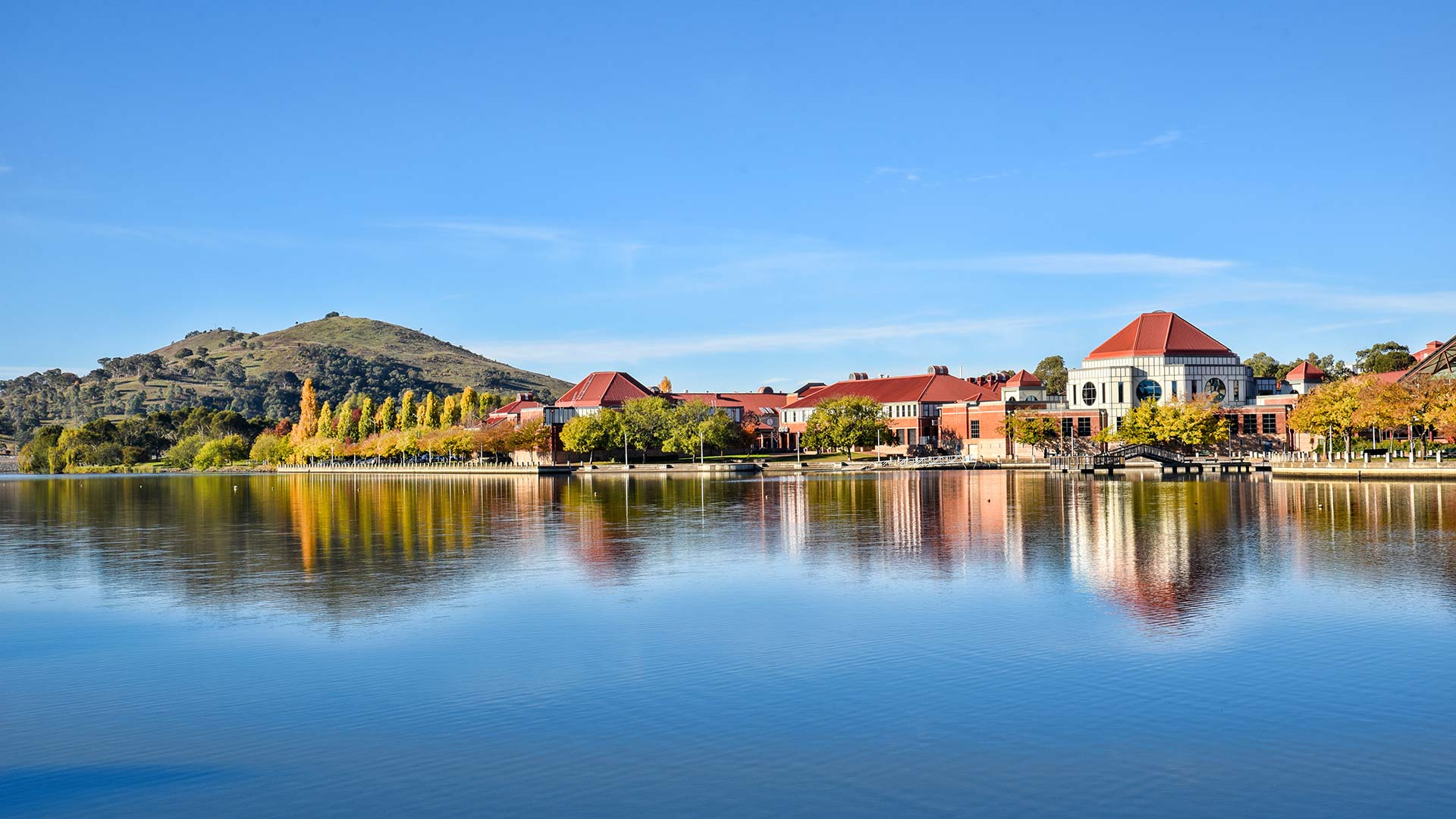 Panorama to illustrate dating in tuggeranong