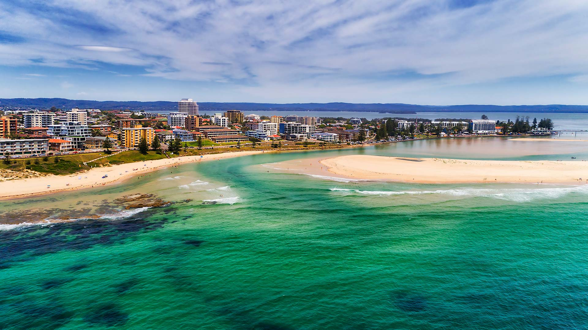 Panorama to illustrate dating in central coast