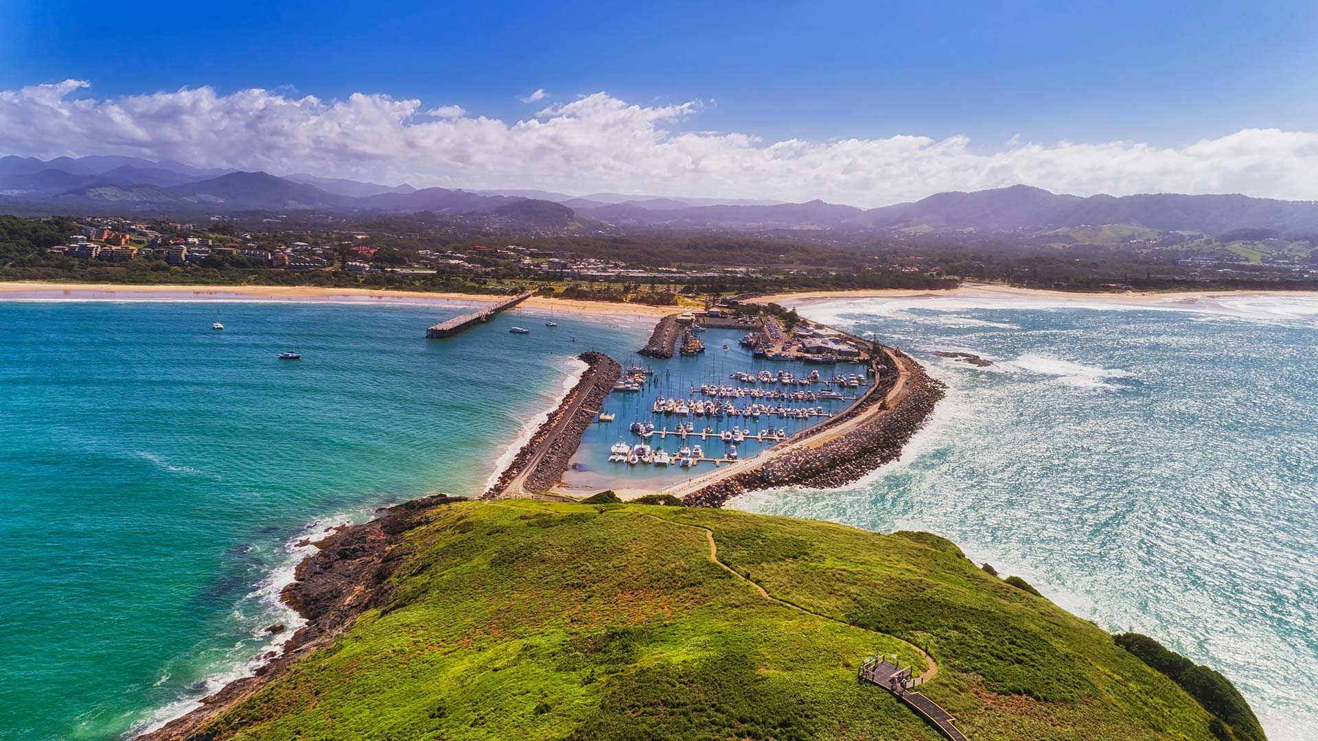 Panorama to illustrate dating in coffs harbour