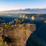 Panorama to illustrate dating in katoomba
