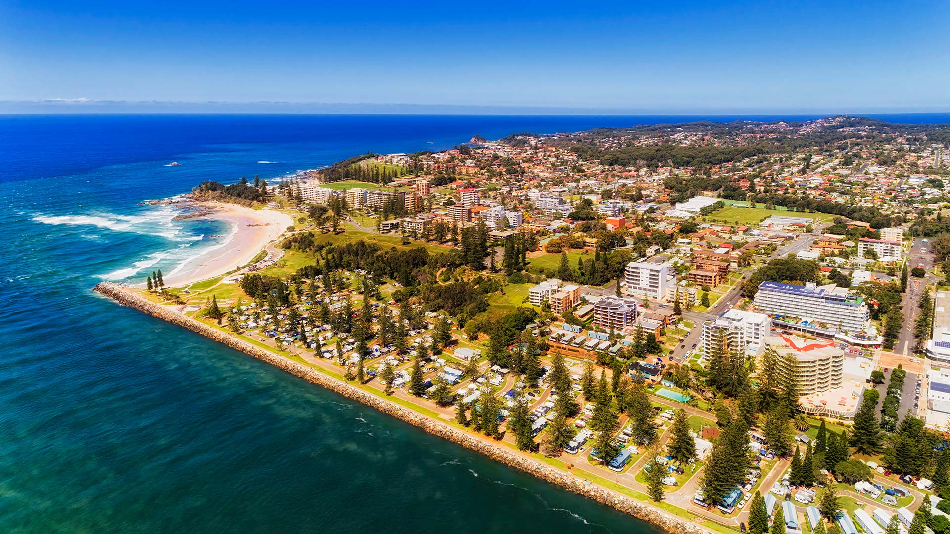 Panorama to illustrate dating in port macquarie
