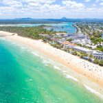 Panorama to illustrate dating in noosa