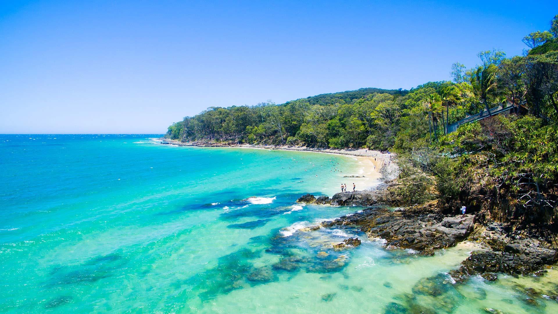 Panorama to illustrate dating in sunshine coast