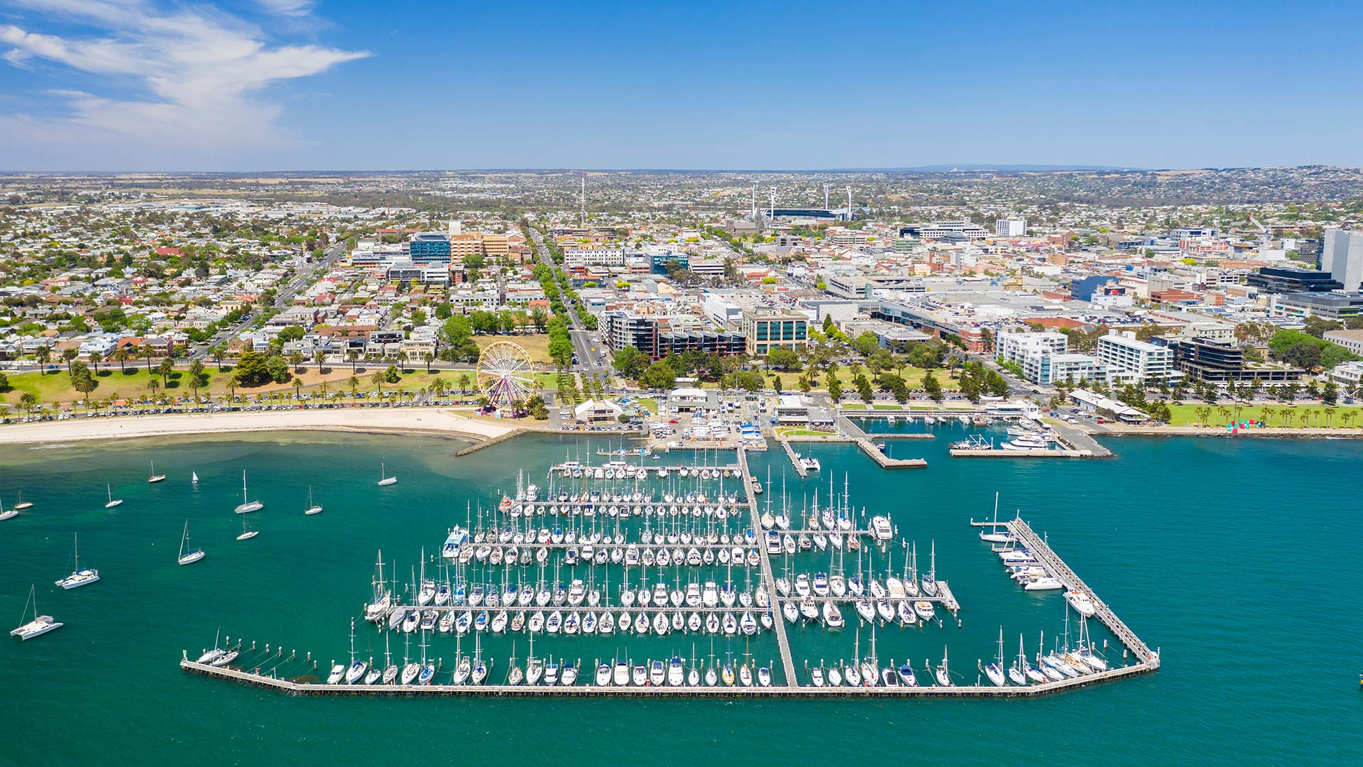 Panorama to illustrate dating in geelong