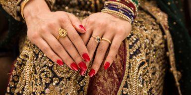 eHarmony muslim bride's hands
